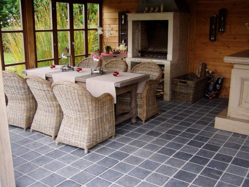 dalles de terrasse pierre bleue vietnam tambourinee. Black Bedroom Furniture Sets. Home Design Ideas