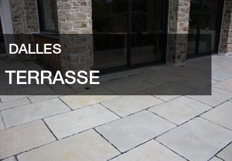Dallage de terrasse : dalles et pavés en pierre naturelle pour votre terrasse